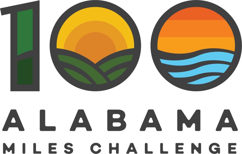 100 Alabama Miles Challenge logo