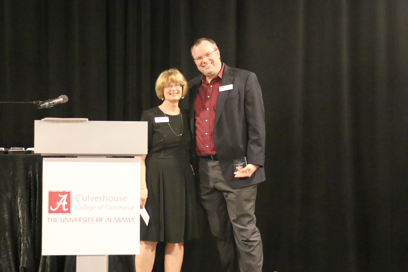 Dean Palan and Culverhouse College of Business Early Achievement in Research Award recipient, Dr. Peter Harms.