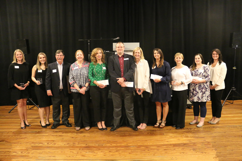 The 2018 Faculty & Staff Award Recipients.