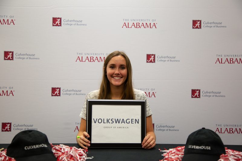 Senior Amanda Murff has accepted a position with Volkswagen Group of America.