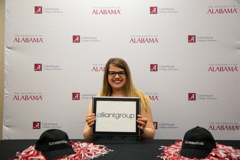 Senior Paige Ridley has accepted a position with AlliantGroup.