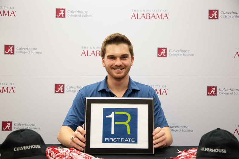 Senior Alexander Serman has accepted a position with First Rate.