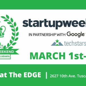 Startup Weekend 2019 runs from March 1-3 at the EDGE