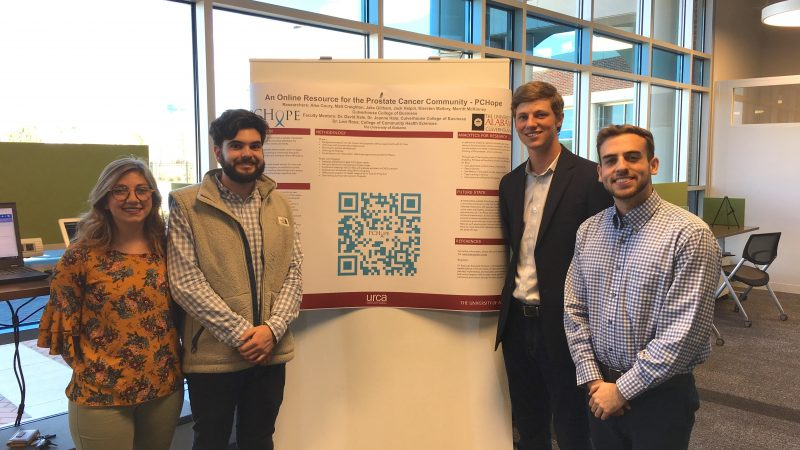 Undergraduate Culverhouse Research on Display at URCA