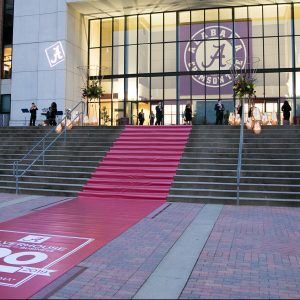 the red carpet was rolled out for the Culverhouse Centennial Gala