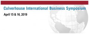 International Business Symposium starts April 15th to April 16th