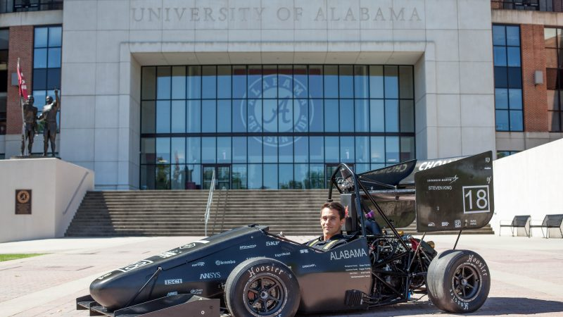 How This Culverhouse Student Manages the Business Behind the Race Car