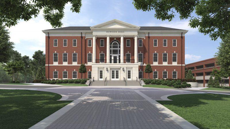More than $25 Million Raised for UA's Hewson Hall