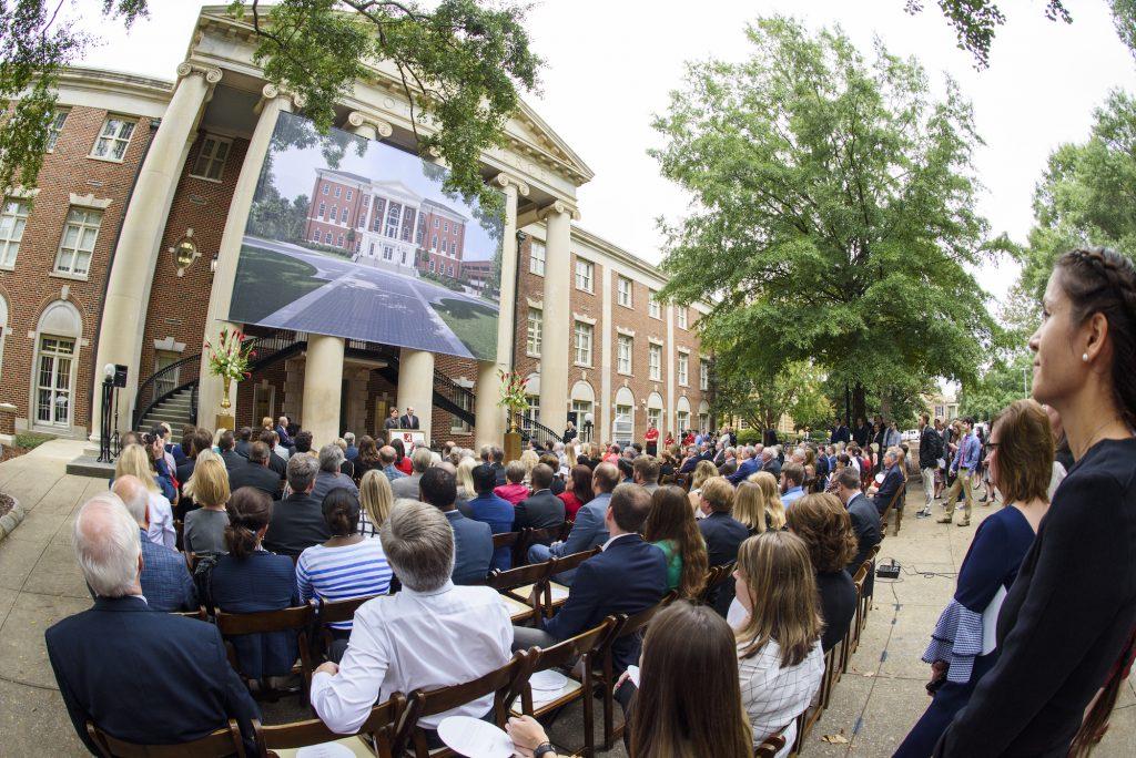 Hewson Hall unveiling