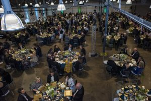 Alabama Business Hall of Fame guests gathered at Haven in downtown Birmingham.