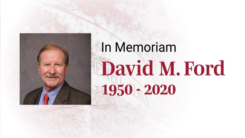 In Memory of David Ford