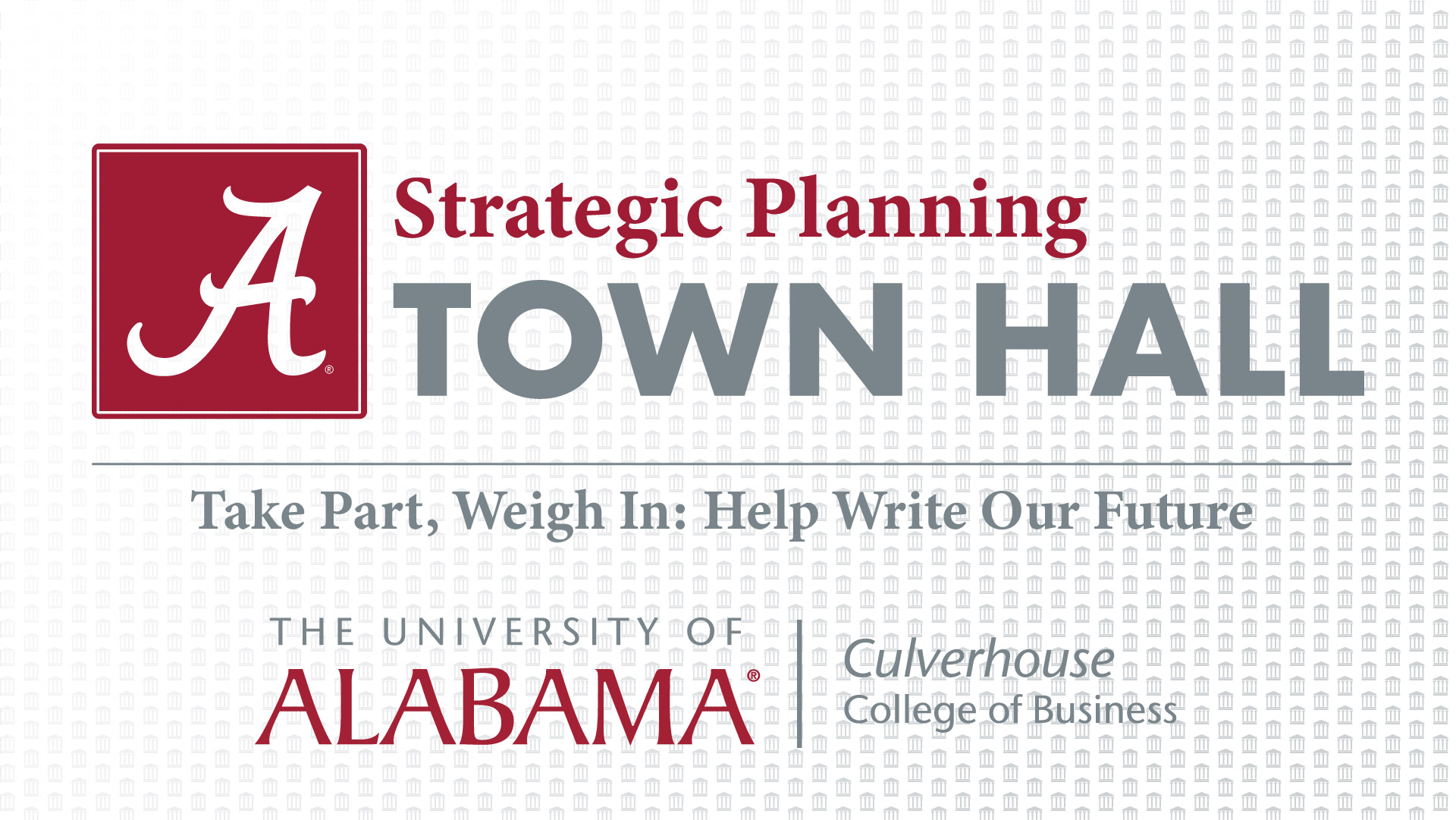 Strategic Planning Town Hall header