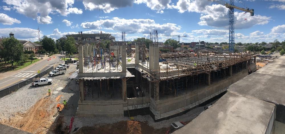 Hewson Hall construction September 2020