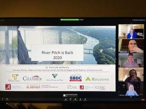 Dr. Theresa Welbourne, Executive Director of AEI kicks off the 2020 virtual River Pitch Competition