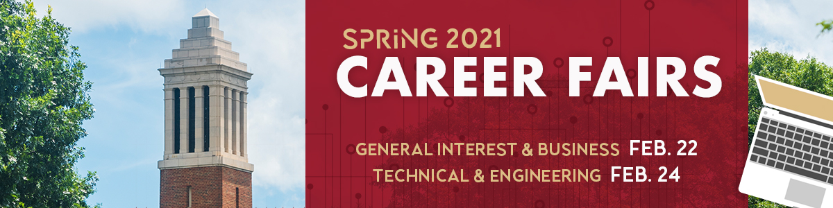 Spring 2021 Career Fairs