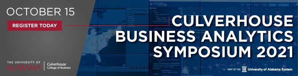 2021 Culverhouse Business Analytics Symposium